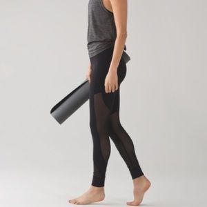Lululemon Hot Like Agni Pant Black Luxtreme 8